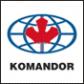 Логотип компании KOMANDOR